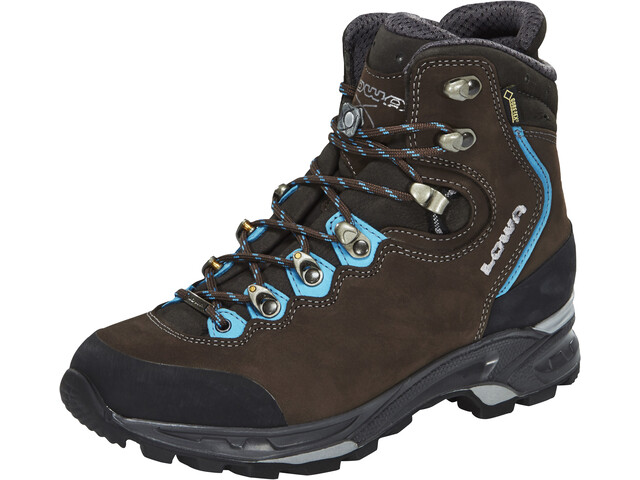 Lowa Mauria GTX Zapatillas de Trekking Mujer, slate/turquoise